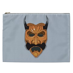 Mask India South Culture Cosmetic Bag (xxl)  by Nexatart