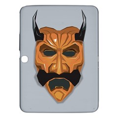Mask India South Culture Samsung Galaxy Tab 3 (10 1 ) P5200 Hardshell Case