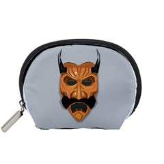 Mask India South Culture Accessory Pouches (small)  by Nexatart
