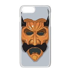 Mask India South Culture Apple Iphone 7 Plus Seamless Case (white) by Nexatart
