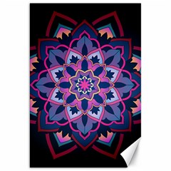Mandala Circular Pattern Canvas 20  X 30