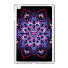 Mandala Circular Pattern Apple Ipad Mini Case (white)
