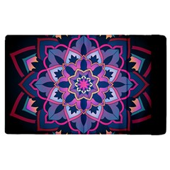 Mandala Circular Pattern Apple Ipad Pro 12 9   Flip Case