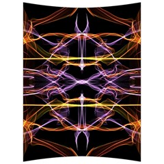 Wallpaper Abstract Art Light Back Support Cushion