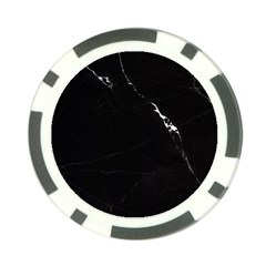 Black Marble Tiles Rock Stone Statues Poker Chip Card Guard