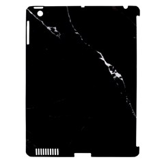 Black Marble Tiles Rock Stone Statues Apple Ipad 3/4 Hardshell Case (compatible With Smart Cover) by Nexatart