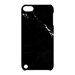 Black Marble Tiles Rock Stone Statues Apple Ipod Touch 5 Hardshell Case With Stand by Nexatart