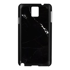 Black Marble Tiles Rock Stone Statues Samsung Galaxy Note 3 N9005 Case (black)