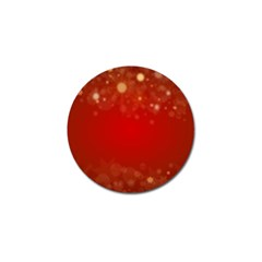 Background Abstract Christmas Golf Ball Marker