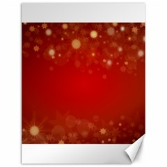Background Abstract Christmas Canvas 12  X 16