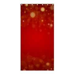 Background Abstract Christmas Shower Curtain 36  X 72  (stall)
