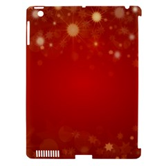 Background Abstract Christmas Apple Ipad 3/4 Hardshell Case (compatible With Smart Cover)