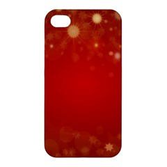 Background Abstract Christmas Apple Iphone 4/4s Premium Hardshell Case