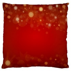 Background Abstract Christmas Standard Flano Cushion Case (one Side)