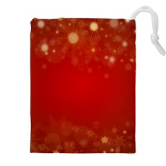 Background Abstract Christmas Drawstring Pouches (xxl) by Nexatart