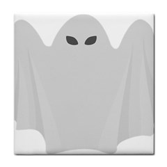 Ghost Halloween Spooky Horror Fear Tile Coasters by Nexatart