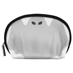 Ghost Halloween Spooky Horror Fear Accessory Pouches (large)  by Nexatart