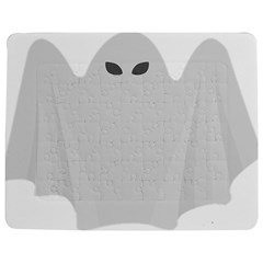 Ghost Halloween Spooky Horror Fear Jigsaw Puzzle Photo Stand (rectangular)