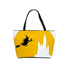 Castle Cat Evil Female Fictiona Shoulder Handbags