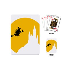 Castle Cat Evil Female Fictiona Playing Cards (mini)  by Nexatart