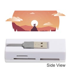 Design Art Hill Hut Landscape Memory Card Reader (stick)