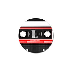 Compact Cassette Musicassette Mc Golf Ball Marker by Nexatart