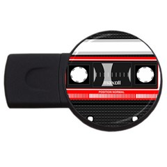 Compact Cassette Musicassette Mc Usb Flash Drive Round (4 Gb) by Nexatart