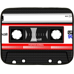 Compact Cassette Musicassette Mc Fleece Blanket (mini) by Nexatart