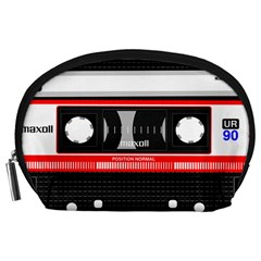 Compact Cassette Musicassette Mc Accessory Pouches (large)  by Nexatart
