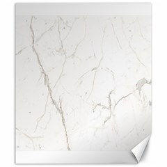 White Marble Tiles Rock Stone Statues Canvas 20  X 24