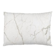 White Marble Tiles Rock Stone Statues Pillow Case
