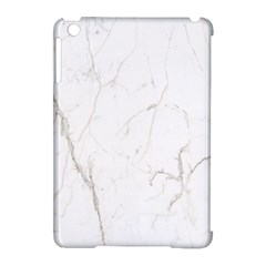 White Marble Tiles Rock Stone Statues Apple Ipad Mini Hardshell Case (compatible With Smart Cover)