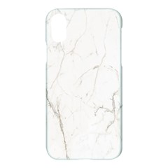 White Marble Tiles Rock Stone Statues Apple Iphone X Hardshell Case