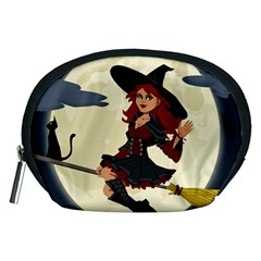 Witch Witchcraft Broomstick Broom Accessory Pouches (medium)