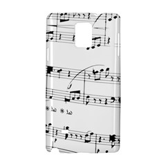 Abuse Background Monochrome My Bits Samsung Galaxy Note 4 Hardshell Case