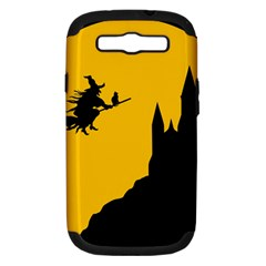 Castle Cat Evil Female Fictional Samsung Galaxy S Iii Hardshell Case (pc+silicone) by Nexatart