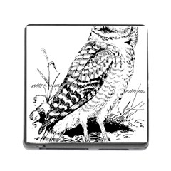 Animal Bird Forest Nature Owl Memory Card Reader (square) by Nexatart