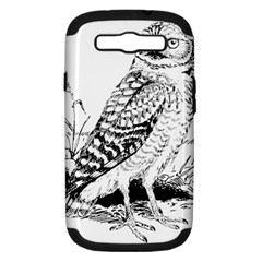 Animal Bird Forest Nature Owl Samsung Galaxy S Iii Hardshell Case (pc+silicone)
