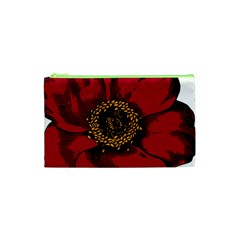 Floral Flower Petal Plant Cosmetic Bag (xs)
