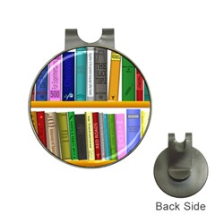 Shelf Books Library Reading Hat Clips With Golf Markers