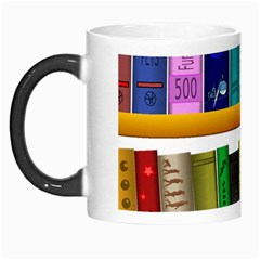 Shelf Books Library Reading Morph Mugs