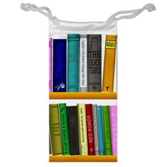 Shelf Books Library Reading Jewelry Bag