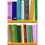 Shelf Books Library Reading 5.5  x 8.5  Notebooks Front Cover