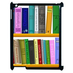 Shelf Books Library Reading Apple Ipad 2 Case (black)