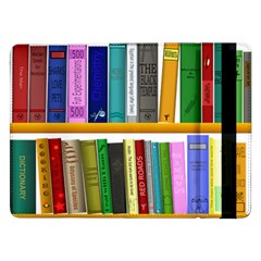 Shelf Books Library Reading Samsung Galaxy Tab Pro 12 2  Flip Case