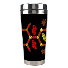 Algorithmic Drawings Stainless Steel Travel Tumblers by Nexatart