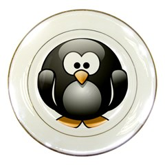 Penguin Birds Aquatic Flightless Porcelain Plates