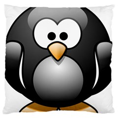 Penguin Birds Aquatic Flightless Large Cushion Case (two Sides)