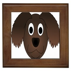 Dog Pup Animal Canine Brown Pet Framed Tiles by Nexatart