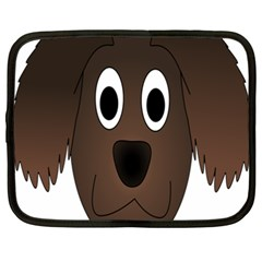 Dog Pup Animal Canine Brown Pet Netbook Case (xxl)